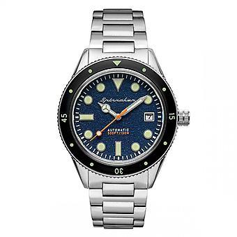 Reloj para hombre Spinnaker CAHILL - SP-5075-22 Pulsera de acero de plata
