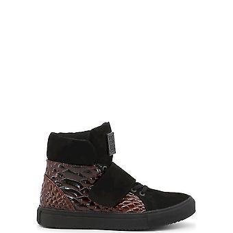 Roccobarocco - Shoes - Sneakers - ROSC0X001PIT-BORDO - Women - darkred,black - EU 37