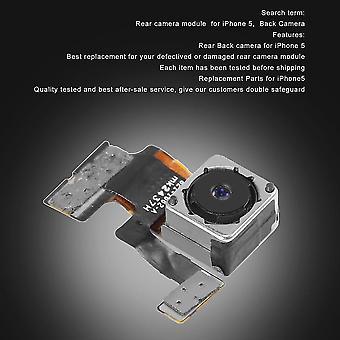 Wymiana modułu tylnej kamery tylnej kamery z kablem Flex dla iphone'a 5 5g