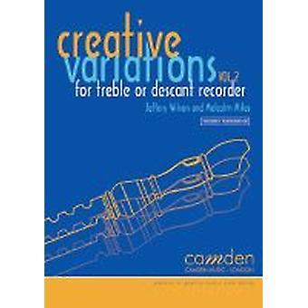 Creative Variations Volume 2 (Recorder) (Malcolm Miles and Jeffery Wilson)