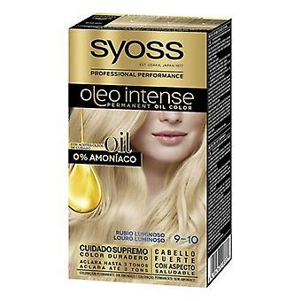Permanent färgämne Olio Intensiv Syoss Nº 9,10 Lysande Blondin