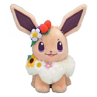 Pokemon 2021nuovo autentico Giappone Anime Gamepikachu&eievui's Easter Eevee Peluche Bambola Stuffed Toy Limited Peluche Bambola Giocattolo