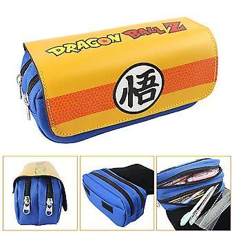 Dragon Ball Double Pencil Case Enfant Grande Capacité(Couleur-2)