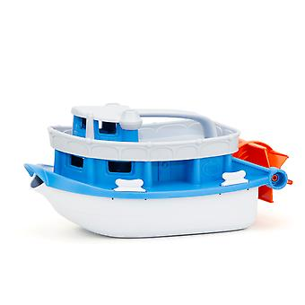 Green Toys Paddle Boat Bath Toy Playset Water Sand Activity Pretend Play