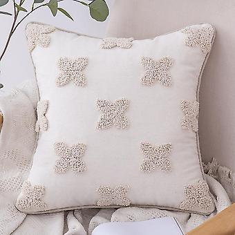Kodin sisustus 16 tyyliä marokkolainen pitsi tupsu tufting intia tyynynpääty