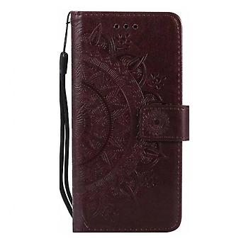 Luxury Pu Leather Wallet Case For Lg K8 2017 Flip Cover Card Slotstand Bag