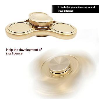 Alliage d'aluminium Hand Spinner Jouets Réduction de l'anxiété Décompresseur Doigt Jouet