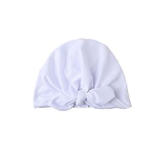 Lapset turbaani puuvilla lämmin beanie hattu