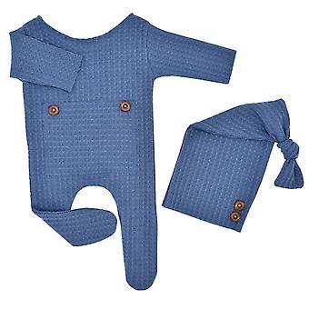2kpl vastasyntynyt vauva valokuvaus rekvisiitta puku