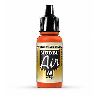 Vallejo Model Air 83 Orange - 17ml Acrylic Airbrush Paint