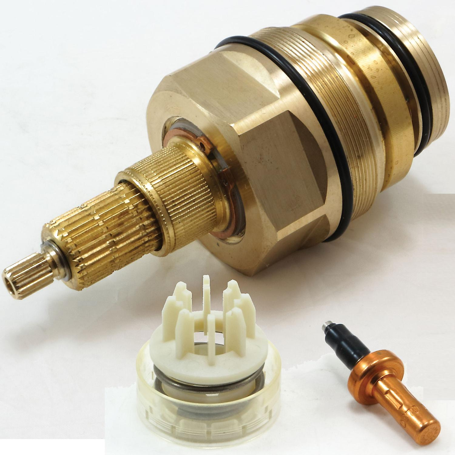 Grohe 47598000 Thermostatic Cartridge with Piston and Wax Element Control Unit for Avensys and Grohmaster Valves