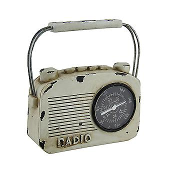 Retro Radio Vintage Finish Decorative Coin Bank