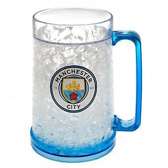 Manchester City kunststof vriezer Tankard