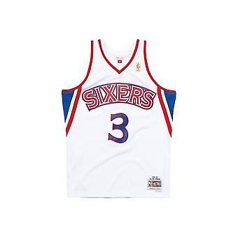 Mitchell & Ness NBA Baschet Tank Top Philadelphia 76ers Allen Iverson 1996 Swingman Jersey White