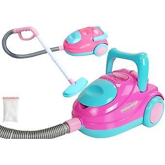 Spielzeugstaubsauger - mit Sound - Pink und Blau - 27cm