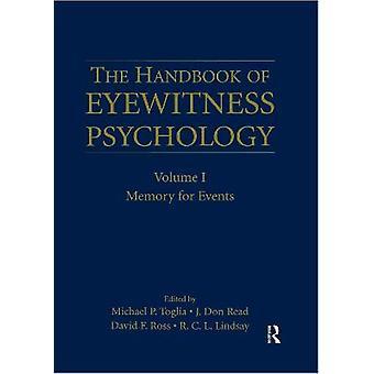 The Handbook of Eyewitness Psychology: Volume I