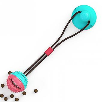Venalisa Dog Toy Pet Sucker Leaking Ball Pet Toy Ball Dog Toothbrush Chew Toys For Small Dog