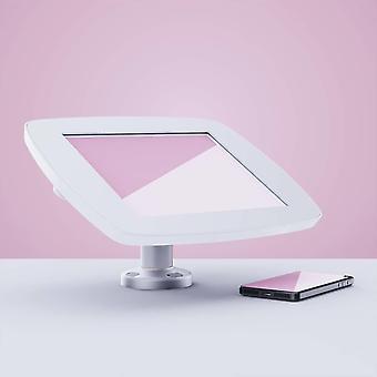 """Tablet computer docks stands swivel desk tablet security enclosure 25.4 Cm 10"""" white"""