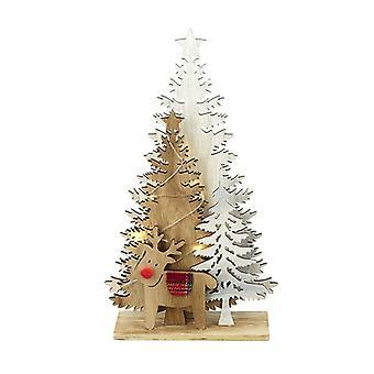 Heaven Sends Light Up Forest Scene Christmas Decoration