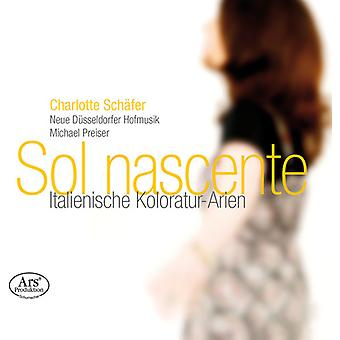 Jommelli / Schafer / Neue Dusseldorfer Hofmusik - Sol Nascente - Italian Coloratura Arias [SACD] USA import