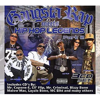 Hi Power Presents - Gangsta Rap Meets Hip-Hop Legends Pt. 2 [CD] USA import