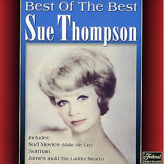 Sue Thompson - Best of the Best [CD] USA import