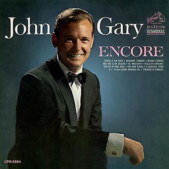 John Gary - Encore [CD] USA import