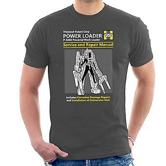 Aliens Power Loader Service And Repair Manual Men's T-Shirt