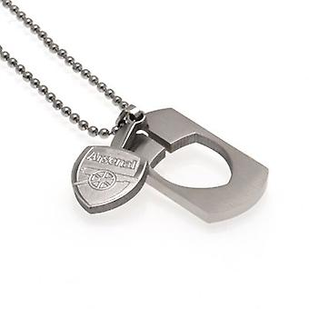 Arsenal Dog Tag & Chain CO CR