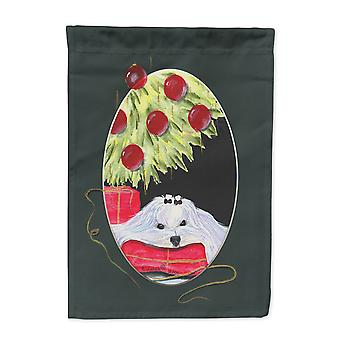 Carolines Treasures  SS8069-FLAG-PARENT Christmas Tree with Maltese Flag
