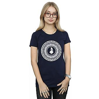 Disney Women's Alice In Wonderland Circle T-Shirt