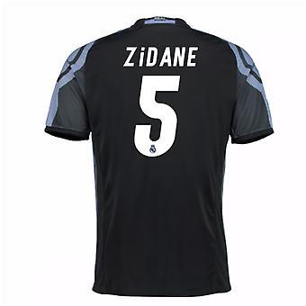 2016-17 real Madrid 3e Shirt (Zidane 5) - Kids