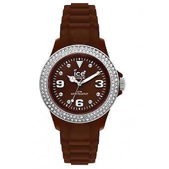 Ice-Watch Sili pietra piccola marrone argento (ST. NS. S.S.10)
