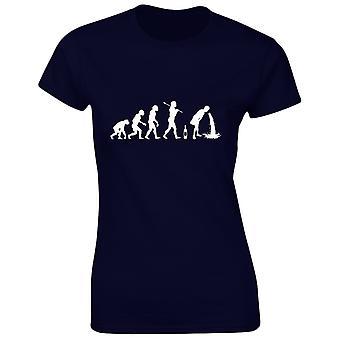 Ivre Evo Evolution alcool Womens T-Shirt 8 couleurs (8-20) par swagwear