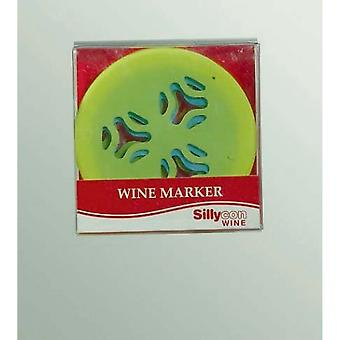 Non-Slip Wine Glass Base Marker (Pack Of 6)