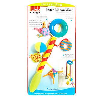 Petstages Jester Band Cat Toy Zauberstab