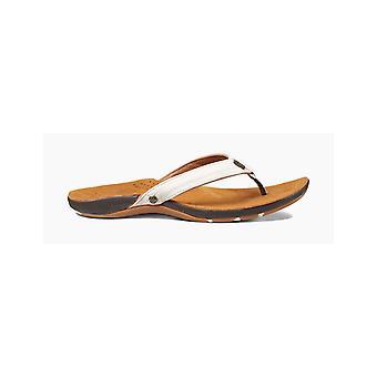 Reef Miss J-Bay Flip Flops à Tan/White