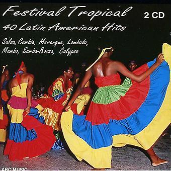 C-Rdenas/Vargas/Kessel/De Oliv - Festival Tropical: 40 importación de USA Soy latina [CD]