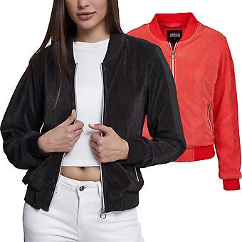 Urban classics ladies - short pleated Blouson jacket
