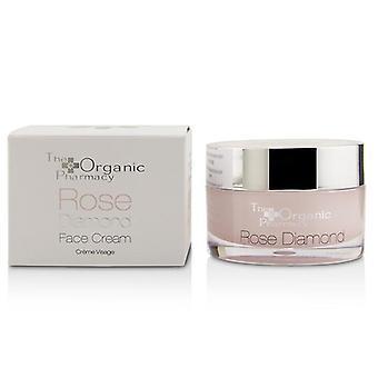 The Organic Pharmacy Rose Diamond Face Cream - 50ml/1.69oz