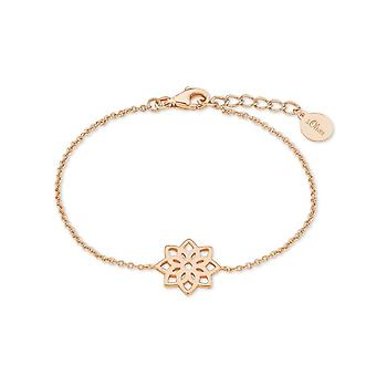 s.Oliver juweel dames armband zilver Rosé zo zuiver bloem 2019845