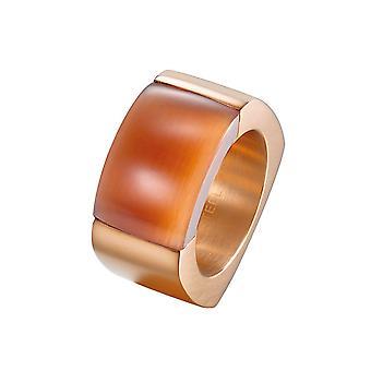 Joop women's ring stainless steel Rosé MARVELOUS JPRG10614D1
