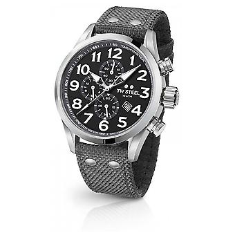 TW Steel Mens Volante gris 45mm montre chronographe VS13