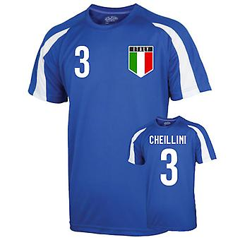 Italy Sports Training Jersey (chiellini 3)