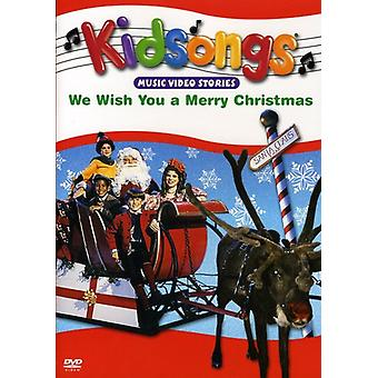 Kidsongs - We Wish You a Merry Christmas [DVD] USA import