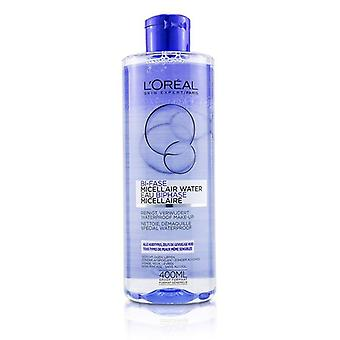 L'oreal Bi-phase Micellar Water (bi-fase Micellair Water) - For All Skin Types Even Sensitive Skin - 400ml/13.3oz