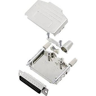 encitech DPPK25-M-HDP44-K 6355-0014-03 D-SUB PIN strip set 180 ° aantal pinnen: 44 soldeer emmer 1 set