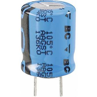 Vishay 2222 136 61471 condensatore elettrolitico radiale piombo 5 mm 470 µF 50 V 20% (Ø x H) 12,5 x 25 mm 1/PC