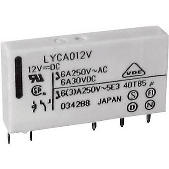 Fujitsu FTR-LYCA012V PCB relay 12 V DC 6 A 1 change-over 1 pc(s)