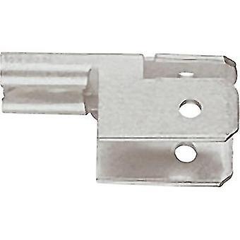 Klauke 755 distributör terminal Connector bredd: 4.8 mm kontakten tjocklek: 0,8 mm 90 ° inte isolerad metall 1 dator